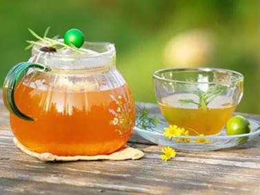 Giảm cân bằng mật ong và trà hiệu quả