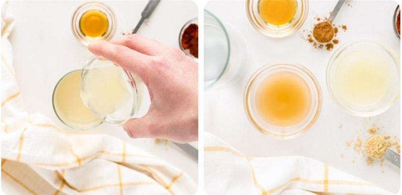 Nước chanh mật ong gừng có hương vị thơm ngon